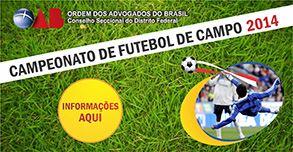 Campeonato de Futebol de Campo 2014
