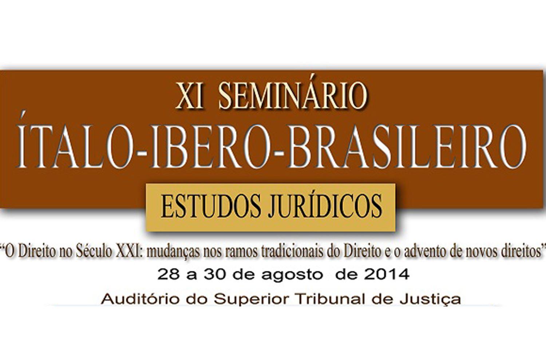 XI Seminário Ítalo-Ibero-Brasileiro de Estudos Jurídicos