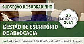banner 293x152 Gestão de Escritório de Advocacia - Sobradinho