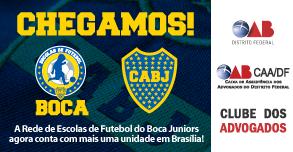 Clube dos Advogados fecha parceria com Escola de Futebol Boca Juniors