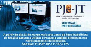 Processo Judicial Eletrônico – Justiça do Trabalho