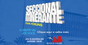 Seccional Itinerante – Etapa Fóruns